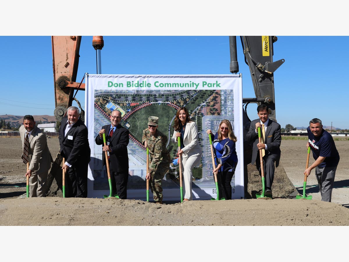 Groundbreaking Ceremony Held For Future Don Biddle Community Park Dublin Ca Patch