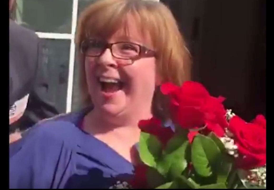 WATCH: Chester County Woman Finds Out She Won $1 Million