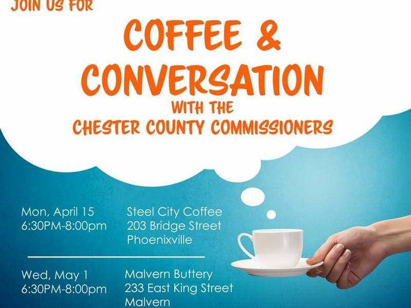Coffee With The Commissioners Event Set In Phoenixville