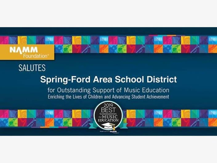 Spring-Ford Among Nations Best Communities For Music Education