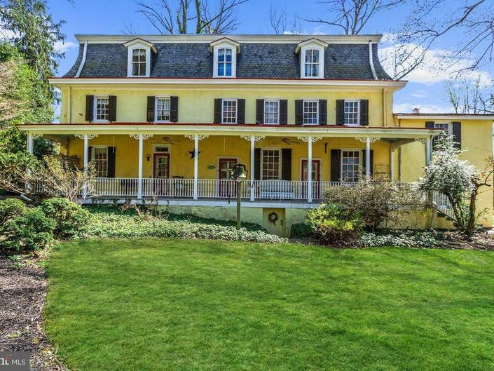Historic Audubon Estate Dates To 1732, Once Owned By William Penn