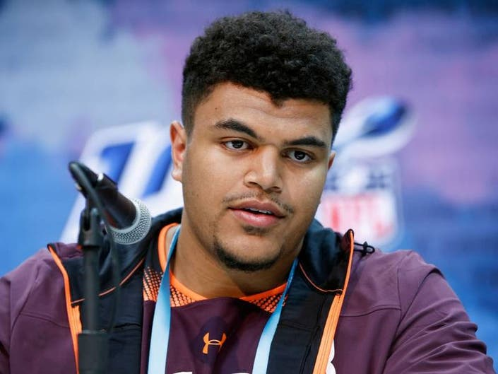 NFL Draft: Eagles Trade Up, Select Andre Dillard In First Round