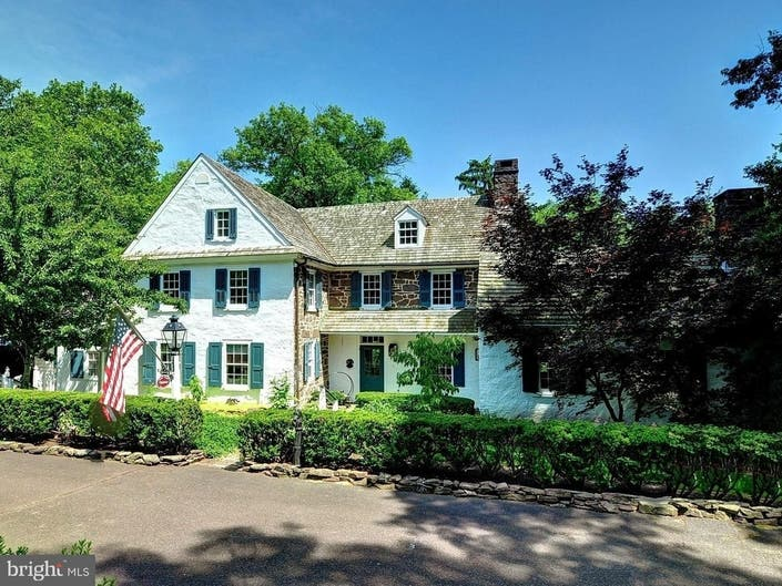 Historic, $1.4M Lansdale Area Estate, Former B&B, Dates To 1700s