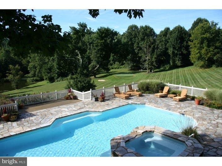 63-Acre Chesco Home Has Golf Course, Hiking Trails, Stocked Pond