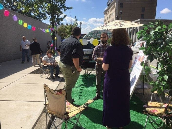 Norristowns Park(ing) Day Creates Mini Parks Out Of Pavement