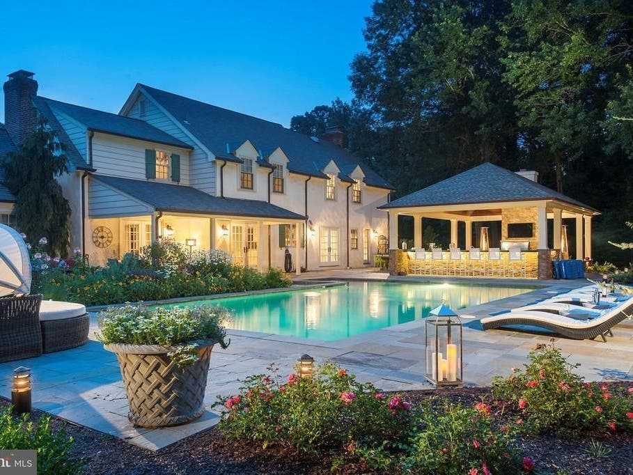 Look Inside This Resort-Like $1.7M Montgomery Co. Mansion