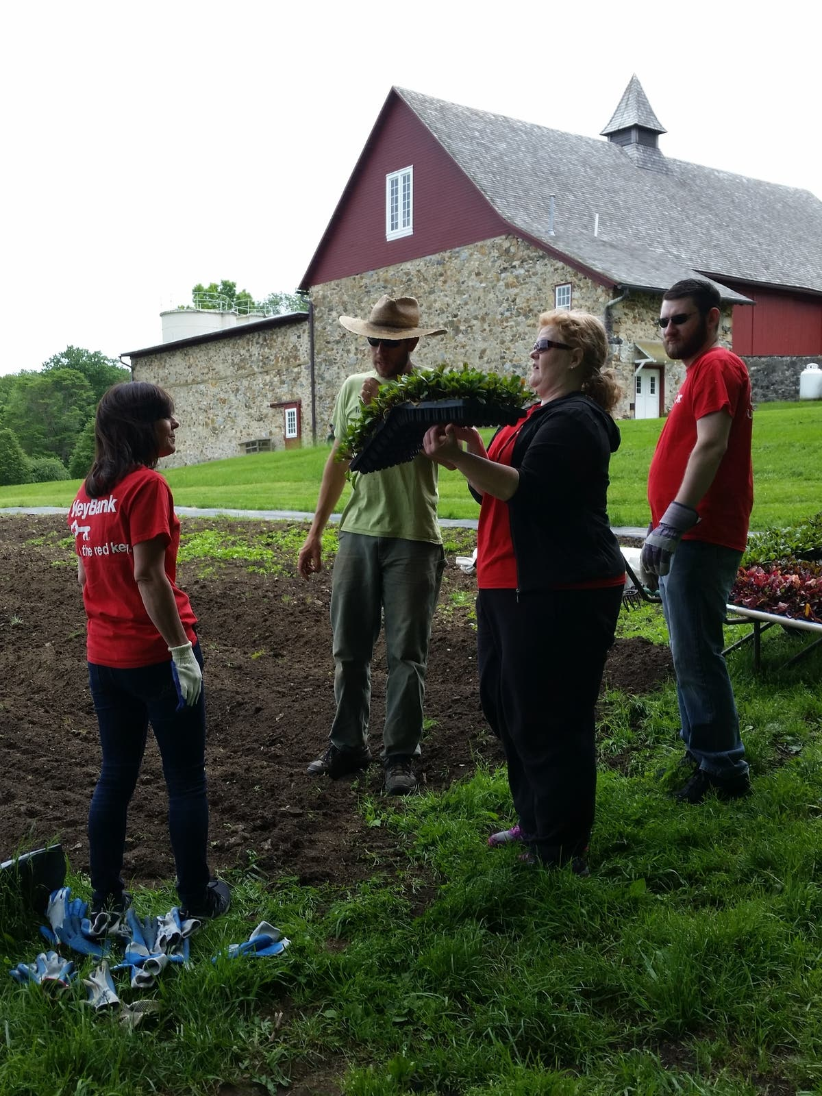 KeyBank Employees Volunteer Across Chester County | West