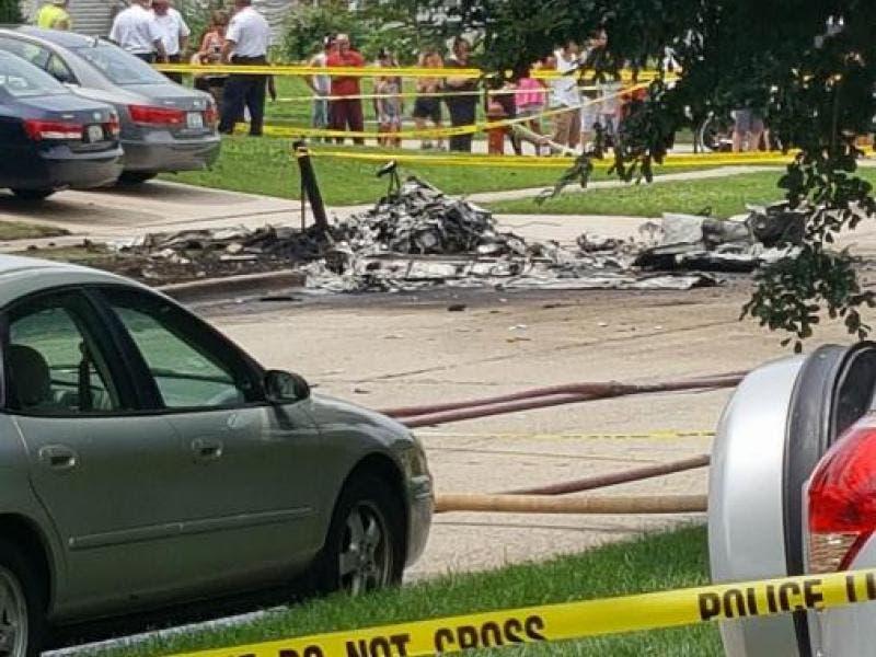 Plainfield Plane Crash Update: Pilot Confirmed Dead, No Injuries