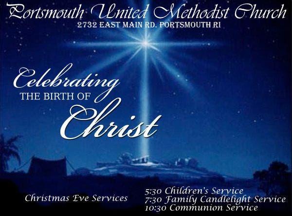 Providence Christian Church Christmas Eve Service 2020 Portsmouth United Methodist Church   Christmas Eve Services