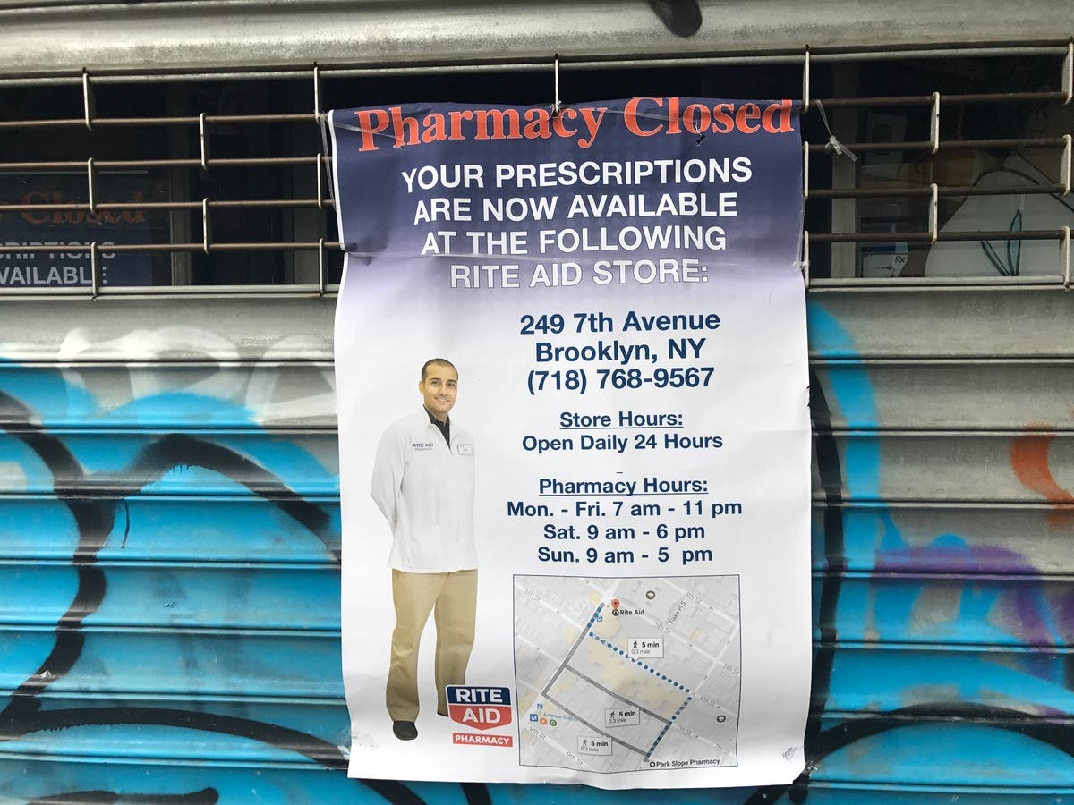 Park Slope Pharmacy Abruptly Closes After Rite Aid Buyout | Park ...