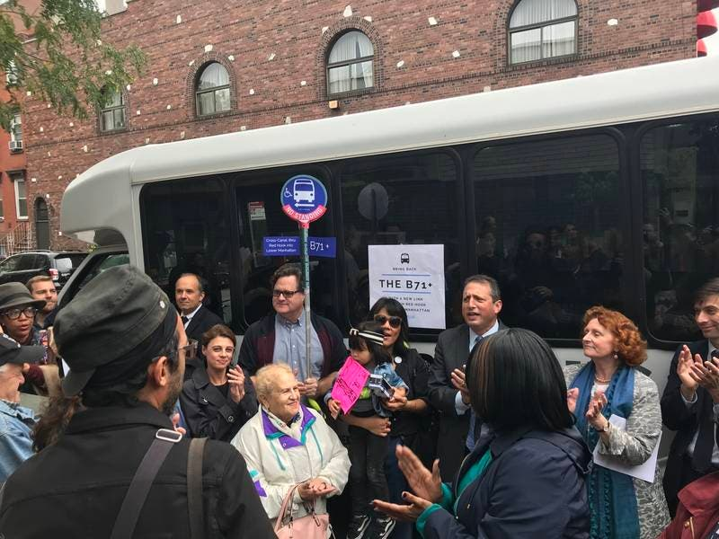 Brooklyn Leaders Call For Return Of B71 Bus With Service