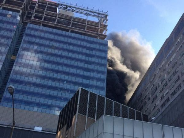 NYU Hospital Fire Caused by Unsafe Construction Site, City