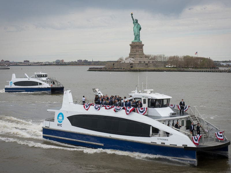 Nyc S Huge New Ferry Network Route Maps Schedules Fares Opening