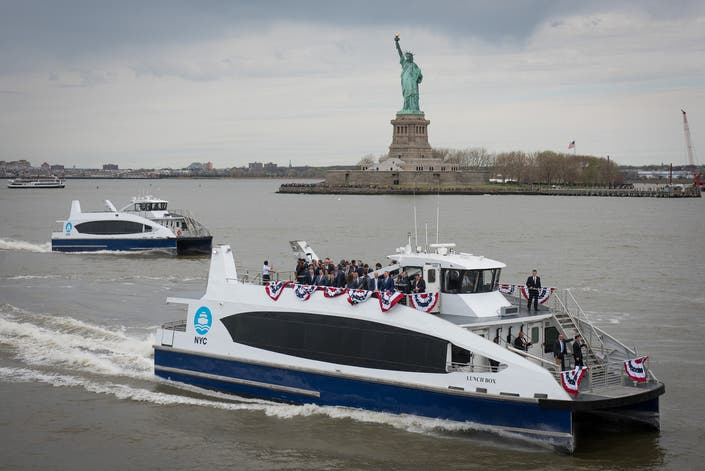 NYC's Huge New Ferry Network: Route Maps, Schedules, Fares