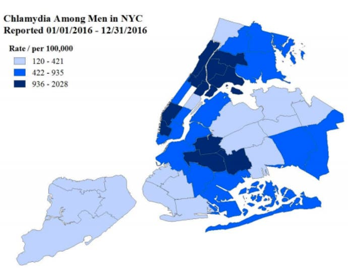 STDs Are Surging In NYC This Year: See Which Neighborhoods