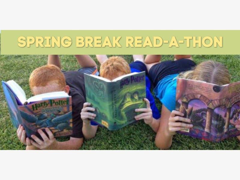 Storytellers Cottage Hosting Spring Break Read-a-thon