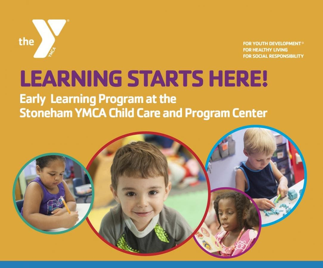 Now Enrolling at the Stoneham YMCA Child Care and Program Center