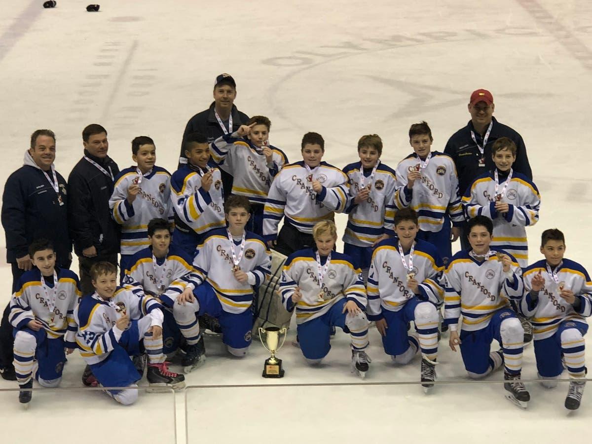 Cranford Hockey Club Pee Wee Team Wins Lake Placid Tournament