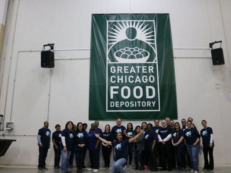 Greater Chicago Food Depository Receives Morgan Stanley