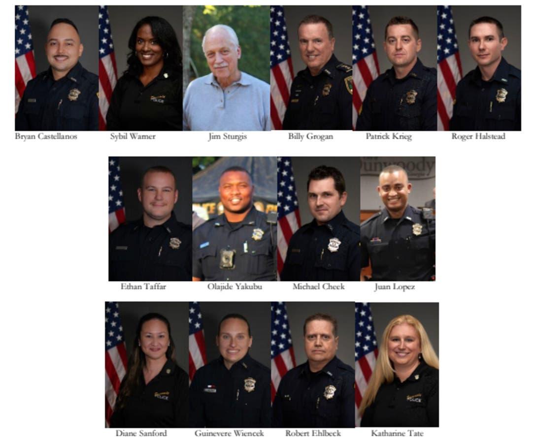 Dunwoody Announces Police Achievement Awards   Dunwoody, GA
