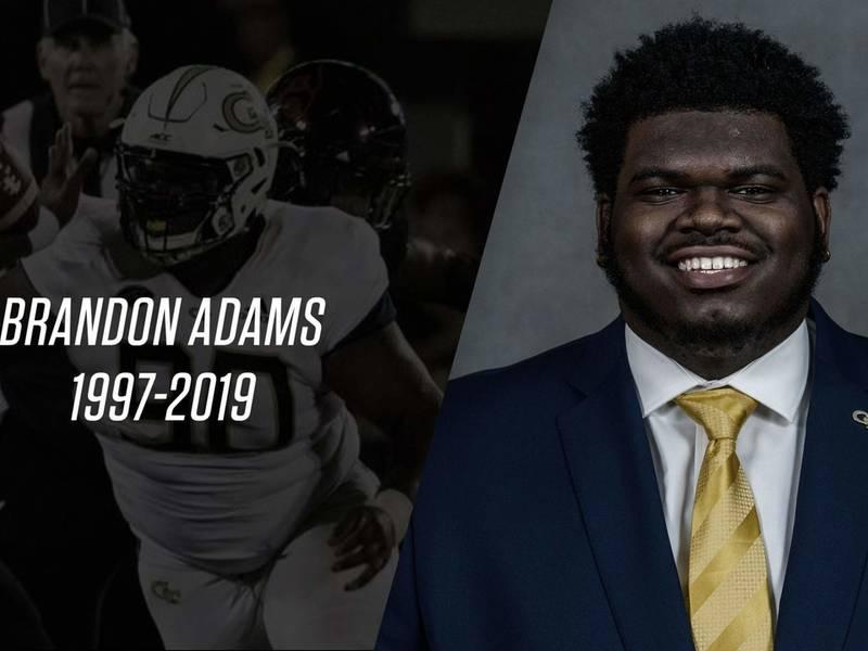 Brandon Adams, GA Tech Defensive Tackle, Dead At 21
