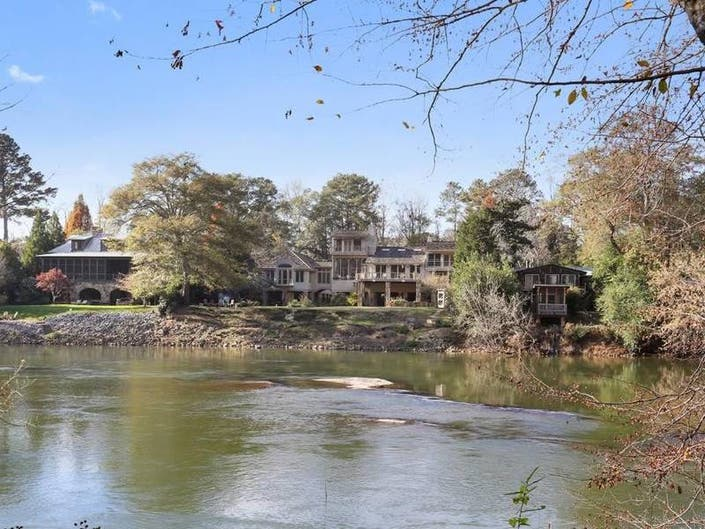 Stunning Home On The Chattahoochee Feels Like A Vacation Home