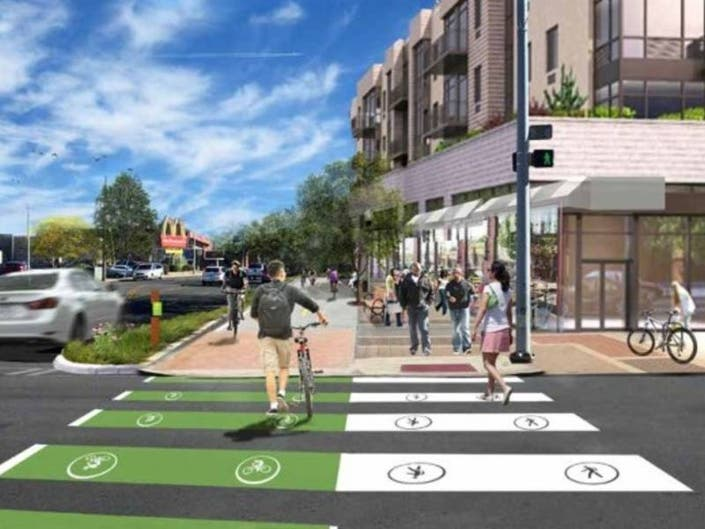 Construction Begins On Commerce Drive Cycle Track