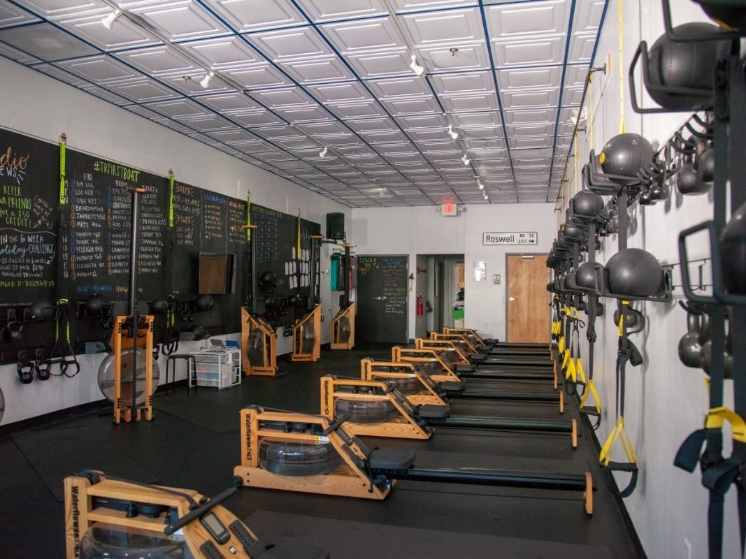 Buckhead couple hope to franchise on rowing fitness business