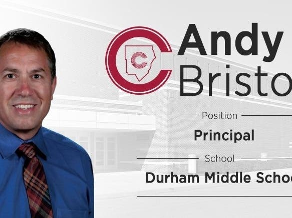 New Principal Profile: Dr. Andy Bristow, Durham Middle School