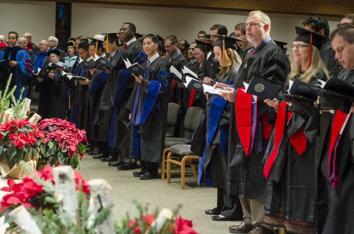 Trinity fall commencement set for Friday, Dec  16