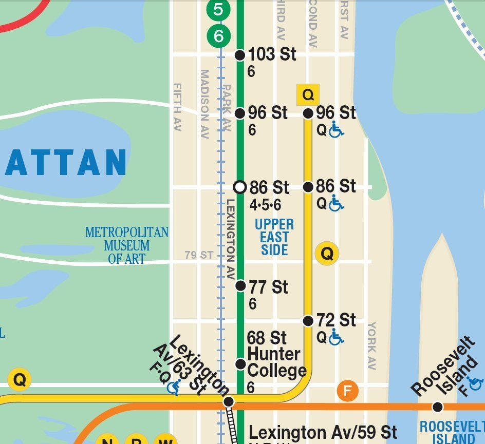2nd Ave Subway Map Phase 1.2nd Avenue Subway Opening Everything You Need To Know Upper East