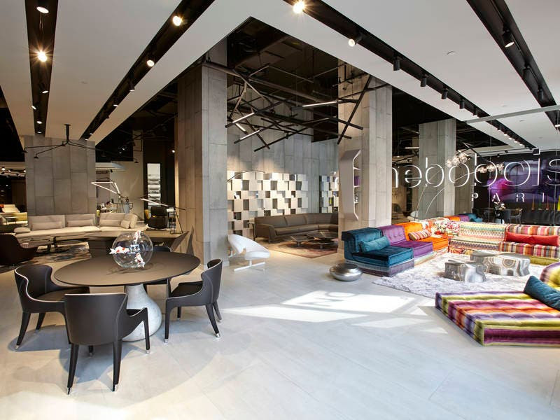 French furniture brand roche bobois opens upper west side showroom
