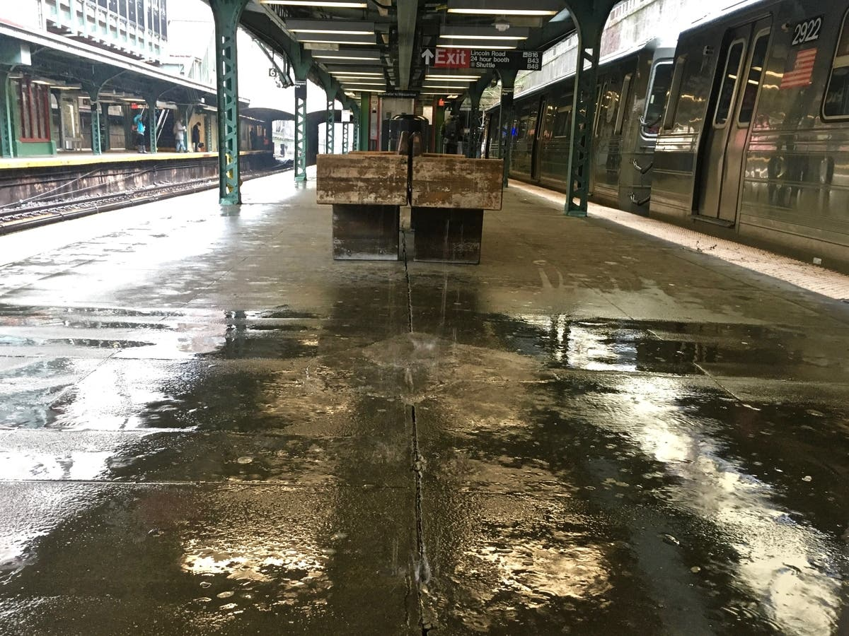 Photos: Nor\'easter Hits NYC, Floods Streets, Destroys Umbrellas ...