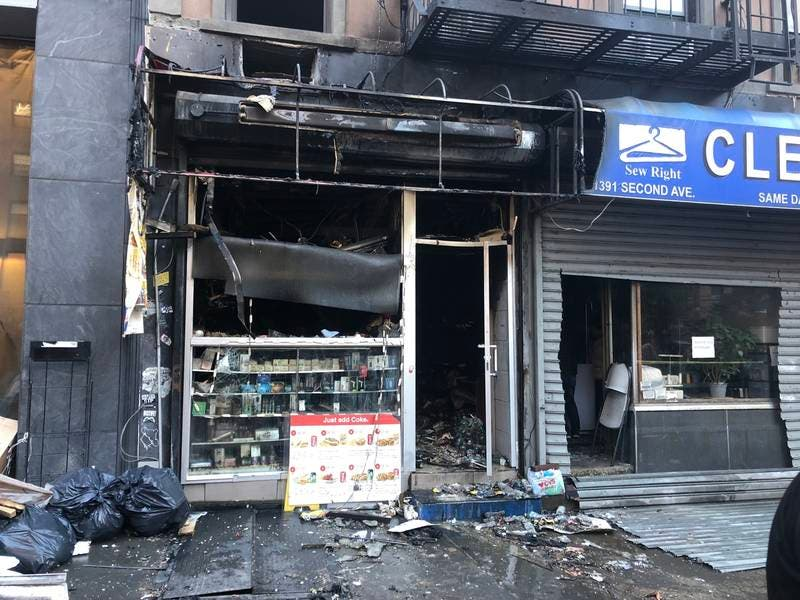 Upper East Side Fire Injures 2, FDNY Says