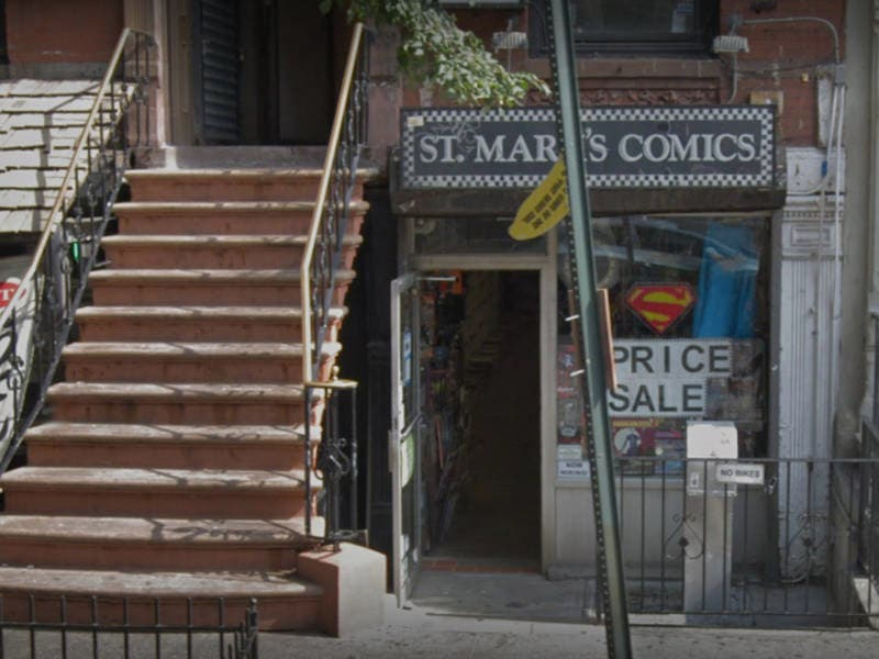 St. Marks Comics Closing After 36 Years In East Village