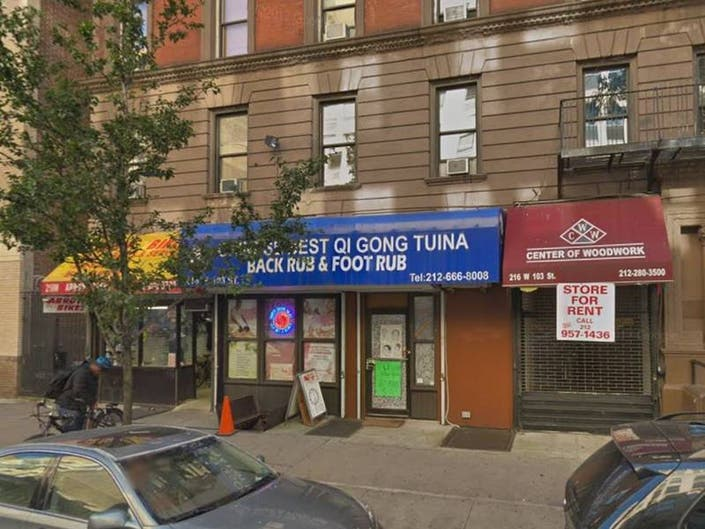 UWS Massage Parlor Shut Down In Prostitution Sting, Reports Say
