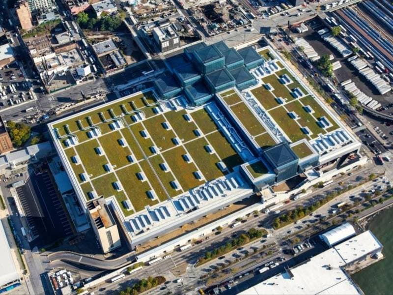 Javits Center Roof Will Have Most Solar Panels In NYC, Gov Says