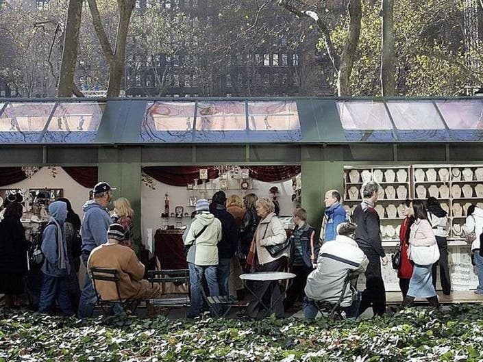 Bryant Park To Host Pop Up Market On 3 Spring Weekends