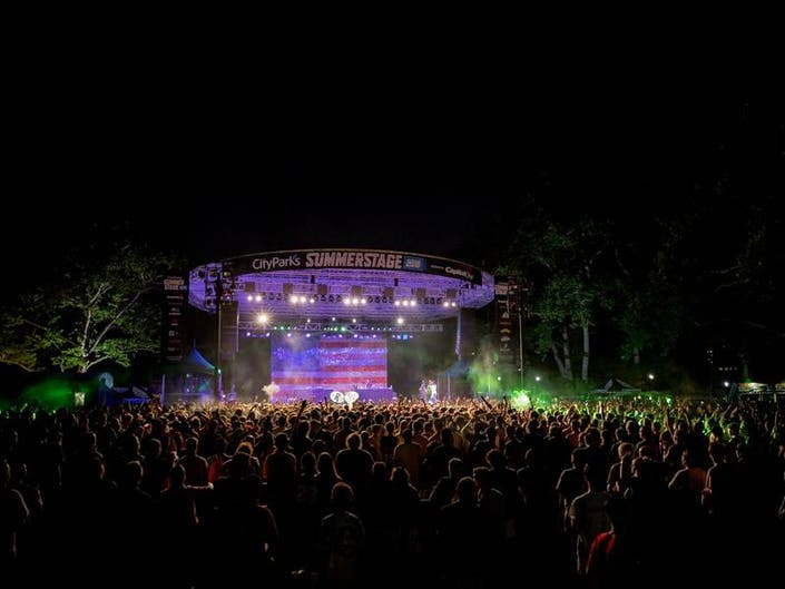 SummerStage 2019 Lineup Brings Free Concerts To 5 NYC Boroughs