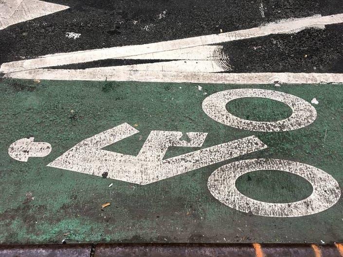 City Greenlights Amsterdam Avenue Bike Lanes In Harlem