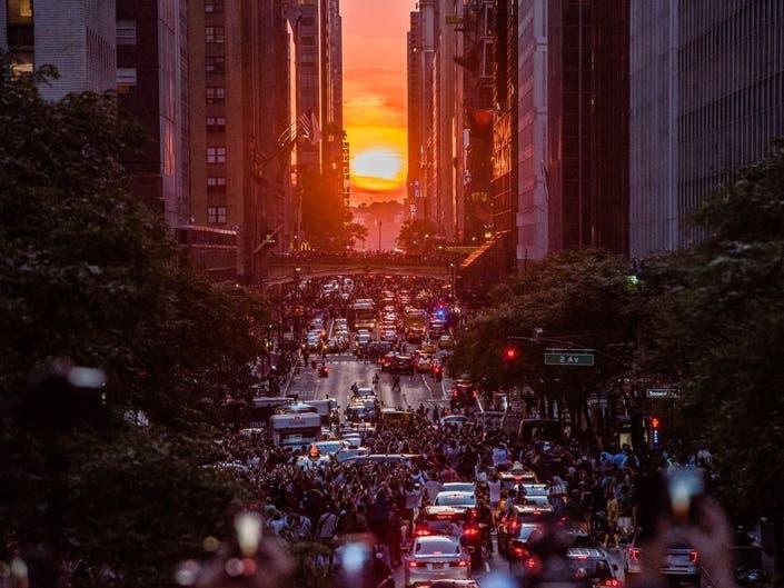Manhattanhenge Returns Next Week, Heres Where To Take Photos