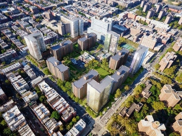 An expansion could double the size of the six-building Lenox Terrace development in Harlem.