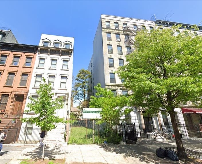 Apartment Building Coming To Central Harlem Vacant Lot
