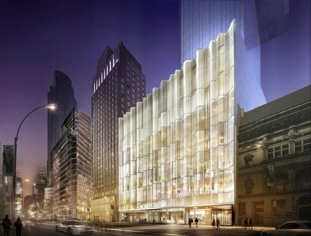 Nordstrom's New Flagship Store Opens In
