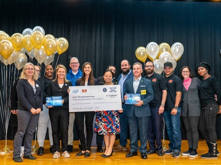 Chelsea Public School Receives $25K In Donated Laptops