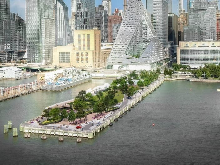 SEE: Manhattans Pier 97 To Become Lush Park
