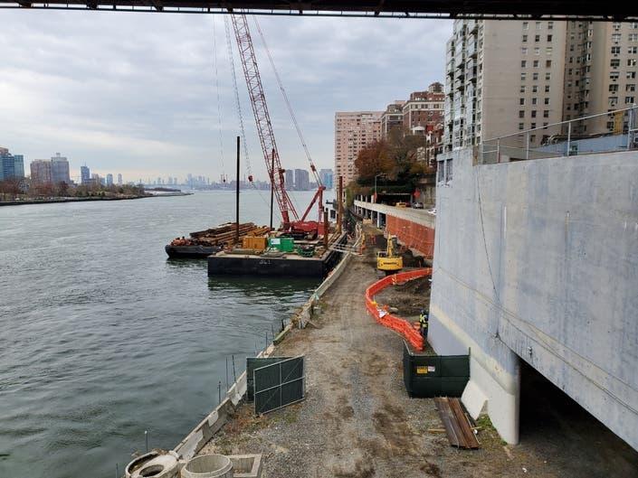 City Breaks Ground To Fill 8-Block East River Esplanade Gap