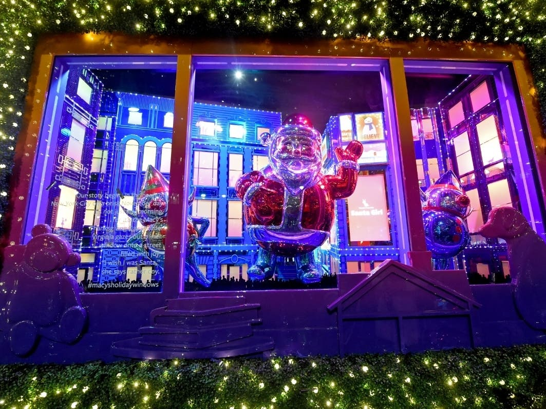 Photos Macy S Reveals Annual Holiday Window Decorations Midtown Ny Patch