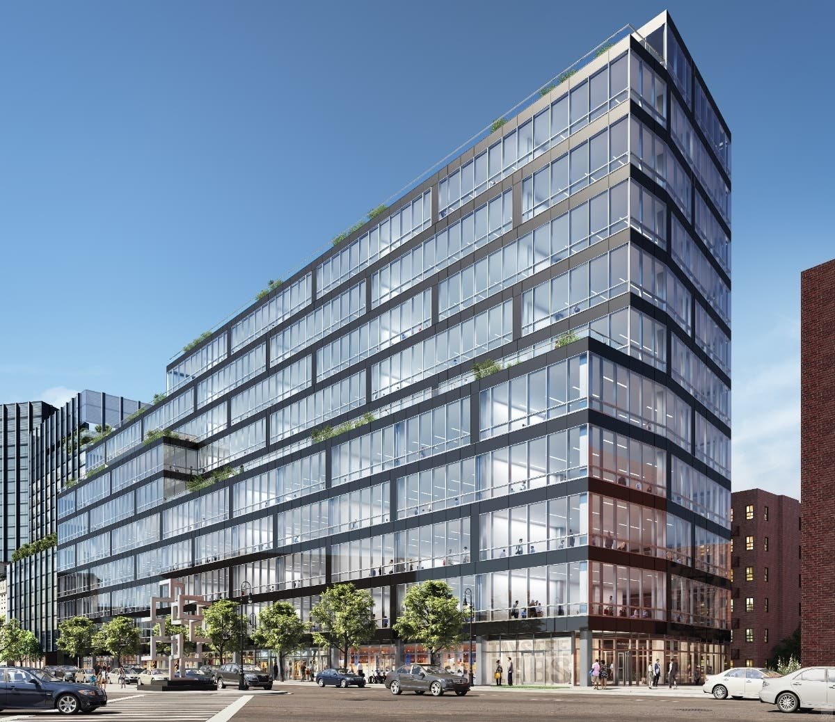 Massive Office Development Tops Out In Harlem