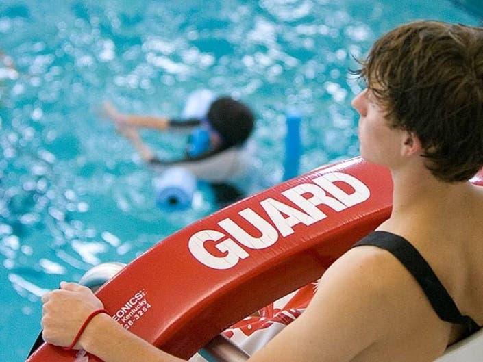 e42544b9dc96 Become a Certified Lifeguard. Old Bridge YMCA offers lifeguard  certification class ...